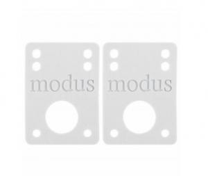 MODUS MODUS Riser Pads White 1/8'' Vario Attrezzatura Skateboard MOD012