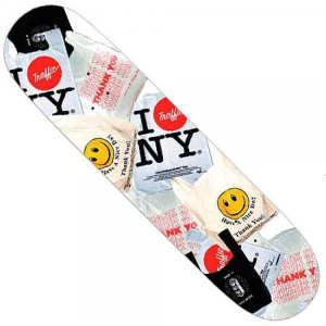 TRAFFIC Tavola da skate Bodega One-Off 8'' Deck Attrezzatura Skateboard TRA027