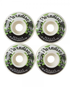 PARADISE Ruote per skate Palms 53mm 101A Ruote Attrezzatura Skateboard PAR003