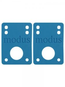 MODUS MODUS Riser Pads Blue 1/8'' Vario Attrezzatura Skateboard MOD011