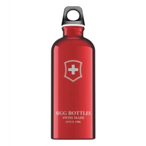 VICTORINOX Bottiglia Swiss Emblem Red 0,6 lt Vario Trekking SI SC60.01