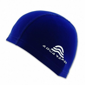 AQUARAPID Cuffia Beky Junior in Tessuto Cuffia Accessori Nuoto BEKY JR.- BLU