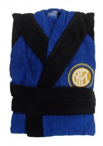 NOVIA Accappatoio Spugna da Bambino Inter Accappatoio Calcio 9631010-2120