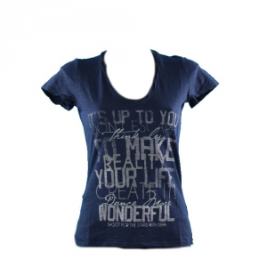 DEHA T-Shirt Donna Fiammata Stampa T.shirt m/m Abbigliamento Fitness B32680-16115