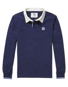 NORTH SAILS Polo Uomo Collo Camicia Polo m/l Abbigliamento Casual 694080-35