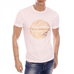 EA7 T-Shirt Train Graphic T.shirt m/m Abbigliamento Casual 6P237-273920-0001