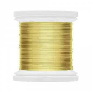 HENDS Filo di Rame Color Wire 0.14 Costruzione materiali Pesca CWF-01 GOLD