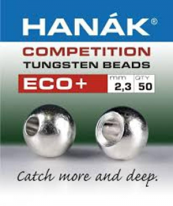 HANAK Testine Tungsteno Bead Eco + 2,3 Pesca BEAD ECO +2,3SILV