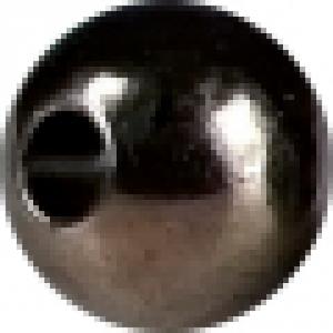HANAK Testine Tungsteno Bead Eco + 3,3 mm nero - Costruzione materiali pesca