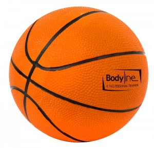 BODYLINE Mini Palla Basket arancio - Pallone basket