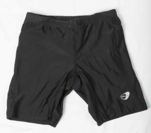 GETFIT Short Donna Ciclista Running Short Abbigliamento Running 3011638-BLACK