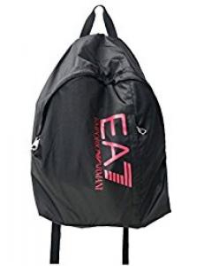 EA7 Zaino Uomo Train Prime BackPack nero rosa