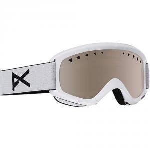ANON Maschera Snowboard Uomo Helix 2.0 + Lente bianco grigio