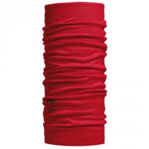BUFF Scaldacollo Lana Merino Solid Grana rosso - Accessori sci
