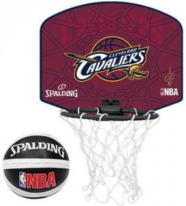 SPALDING Canestro Cleveland Cavaliers NBA marrone