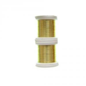 HENDS Filo da Costruzione Color Wire 0,09 mm oro - Costruzione materiali pesca