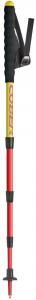 COBER Bastone Quattro giallo rosso - Attrezzatura trekking