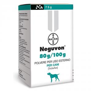 BAYER Pet Care Antiparassitario Per Cane Neguvon Bayer Grammi 75