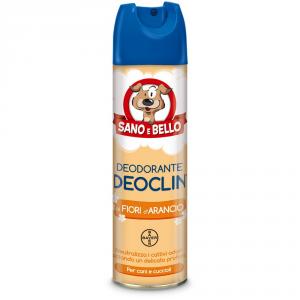 SANO E BELLO Deodorante assorbiodore per cane deoclin ml. 250