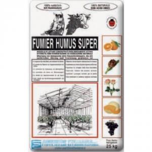 AGRIBIOS Fumier Humus Super Lt. 50 Concimi Organici/Biologici Orto E Giardino