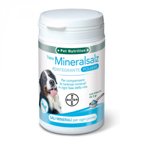 BAYER PET NUTRITION Integratore per cane neo mineralsalz sano e bello gr. 300