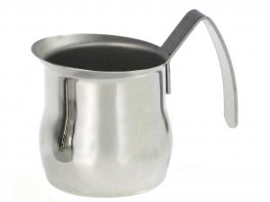 ASTESANI Lattiera acciaio inox bombata tazzine 3 Pentole e preparazione cucina