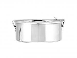 ASTESANI Scatola vivande acciaio inox simplex cm 14 Contenitori cucina barattoli