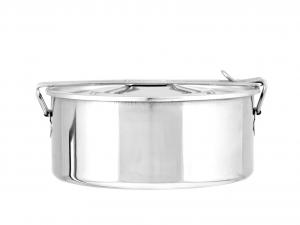 ASTESANI Scatola vivande acciaio inox simplex cm 16 Contenitori cucina barattoli