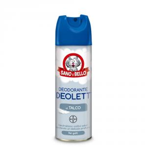 SANO E BELLO Deodorante talco deolett ml. 200 - Igiene toeletta cane