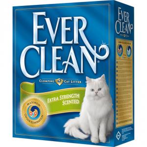 EVER CLEAN Lettiera igienica extra forza profumata kg. 6 - Sabbie per gatti