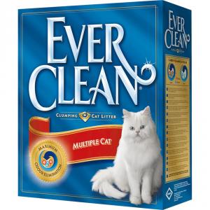 EVER CLEAN Lettiera igienica per ambienti con piu' gatti kg. 6 Sabbie per gatti