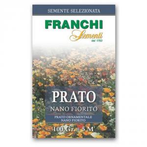 FRANCHI SEMENTI Semente per tappeti erbosi prato nano fiorito gr. 100