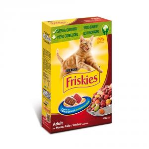 FRISKIES Adult con manzo fegato verdure e carote secco gatto gr. 400