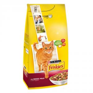 FRISKIES Adult con manzo pollo e verdure secco gatto kg. 2