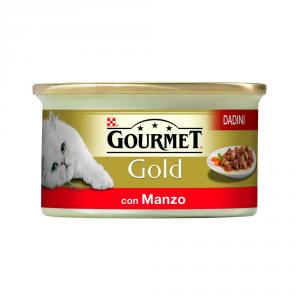 PURINA Gold Dadini Con Manzo In Salsa Umido Gatto Gr. 85