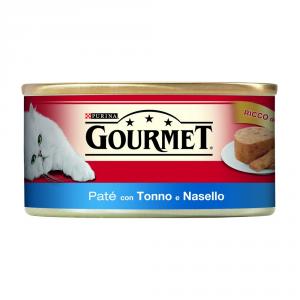PURINA Rosso Lattina 195 Gr. Patè Con Tonno E Nasello Umido Gatto