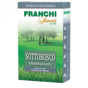 FRANCHI SEMENTI Semente per tappeti erbosi sottobosco -ombreggiato- kg. 5