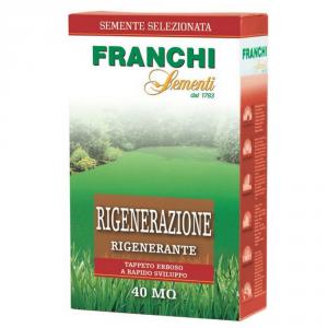 FRANCHI SEMENTI Semente per tappeti erbosi rigenerazione kg. 1 Sementi da prato