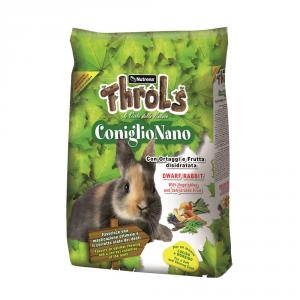 RAGGIO DI SOLE Throls coniglio nano kg. 2,5 - Mangimi roditori