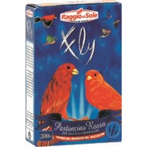 RAGGIO DI SOLE Pastoncino rosso per canarini gr. 300 - Alimenti uccelli