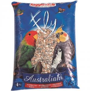 RAGGIO DI SOLE Australiani kg. 4 - Alimenti uccelli