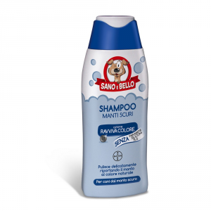 'BAYER PET CARE Shampoo cosmetico per cane ''manti scuri'' bayer ml. 250'