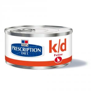 HILL'S PRESCRIPTION DIET K/d con pollo in pezzetti umido gatto gr. 156