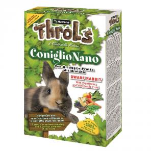 RAGGIO DI SOLE Throls coniglio nano gr. 750 - Mangimi roditori
