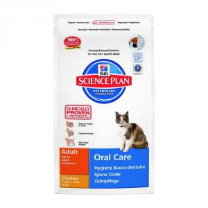 HILL'S SCIENCE PLAN Oral care con pollo secco gatto gr. 250