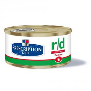HILL'S PRESCRIPTION DIET R/d umido gatto gr. 156
