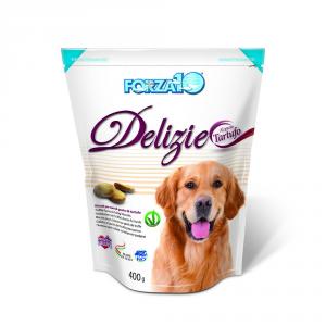 FORZA 10 Delizie al tartufo snack per cani gr. 400 - Snack per cani