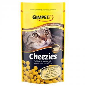 GIMPET Snack per gatto cheezies - palline al formaggio gr. 50 - Snack per gatto