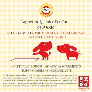 'FUSSDOG Pannoloni con polimeri ''classic'' per cane pz. 10 - Igiene toeletta cane'