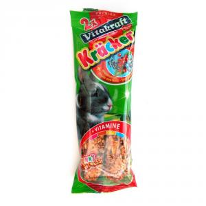 VITAKRAFT Kracker Ai Frutti Di Bosco Conigli Nani 2 Pezzi Snack Per Roditore